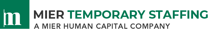Mier Temporary Staffing Logo